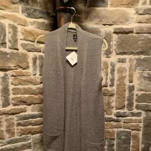 Long gray duster